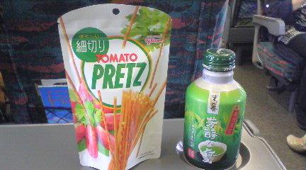 ■2011/6/18(土)帰りの新幹線 / 16:30pm