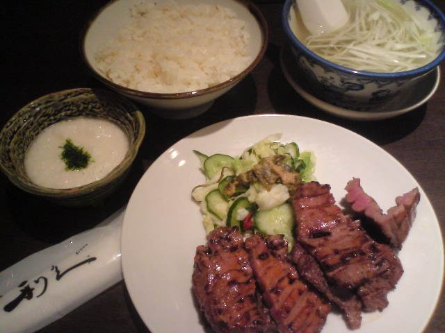 ■2011/6/27(月) 一人定食(^_^) / 19:20pm