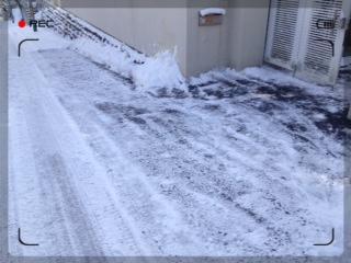 ■2014/12/23 雪かき / 8:50am